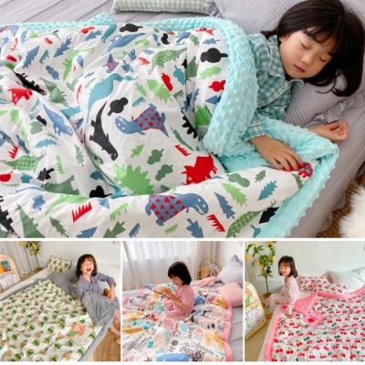 Baby童衣 嬰兒寶寶兒童毛毯 安撫蓋毯 抱被 幼兒園午睡棉被 (120*150) 88588