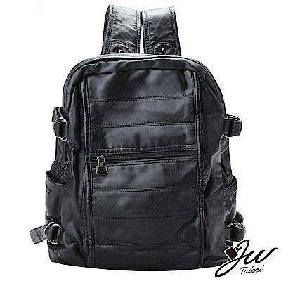 JW  日系古著洗水處理多口袋雙肩後背包  共三色