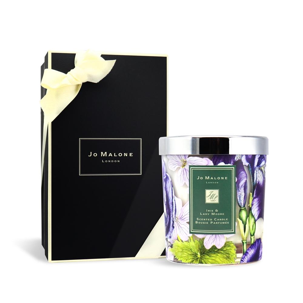 Jo Malone Iris & Lady Moore 鳶尾花與天竺葵香氛蠟燭 200g