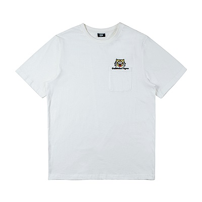 Onitsuka Tiger鬼塚虎-男短袖上衣 2181A231-100