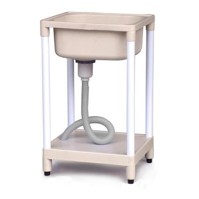 泰家 小型設計塑鋼耐用陽台洗手槽
