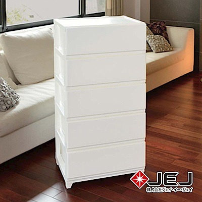 日本JEJ DECONY 系列 寬版組合抽屜櫃 5層