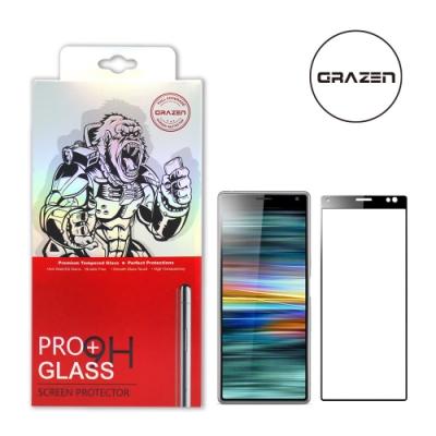 【格森GRAZEN】SONY X10 PLUS滿版(黑)鋼化玻璃