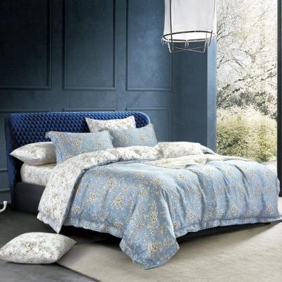 Ania Casa 墨竹 天絲 100% TENCEL 雙人鋪棉兩用被套床包四件組