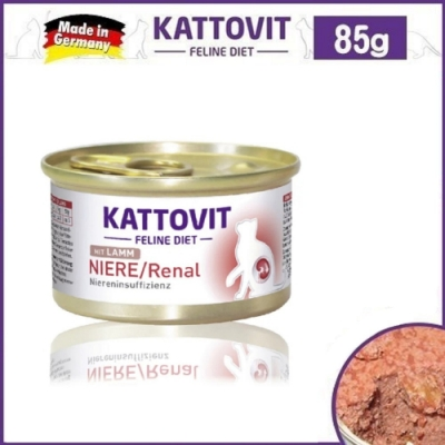 Kattovit 康特維 德國貓罐 腎臟保健-羊肉85g*6罐組