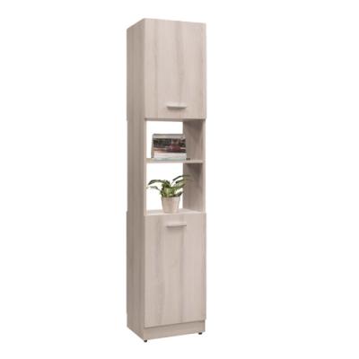 文創集 菲倫1.3尺二門雙面櫃/隔間玄關櫃(雙面可開門設計)-40x38x197cm免組