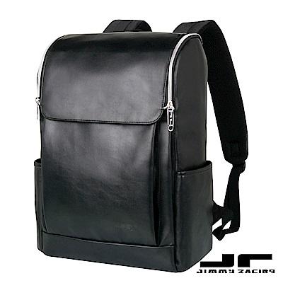 Mr.JR帝國的黎明皮質時尚雙肩包後背包15吋筆電包旅行包