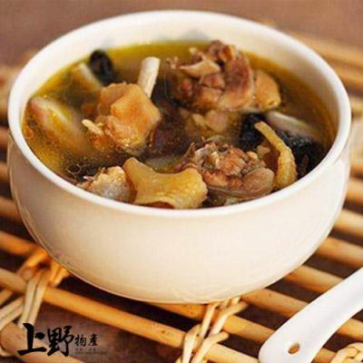 【上野物產】香菇黃金燉雞湯(500g/包) x5
