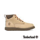 Timberland 男款中駝色磨砂革靴|A28CQ