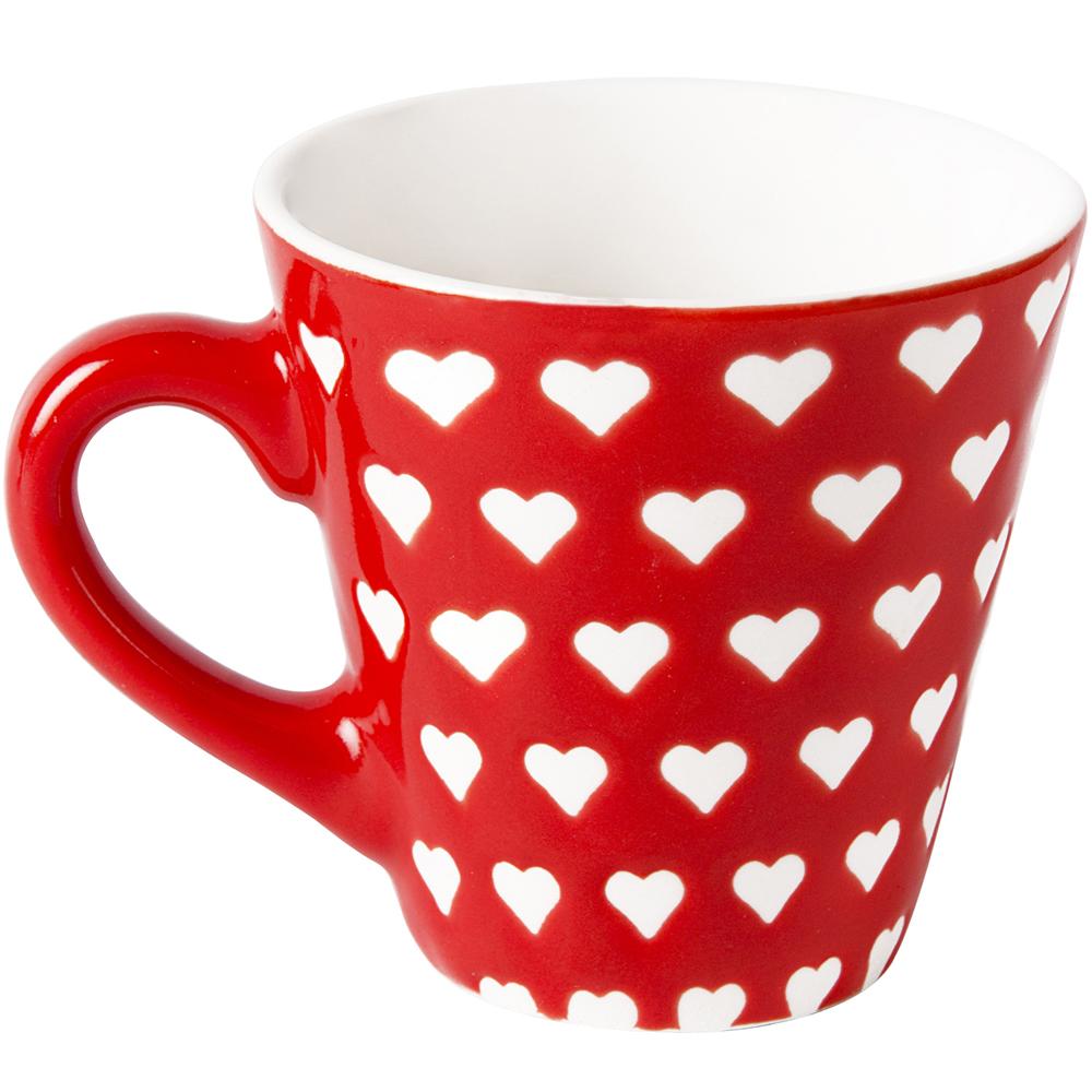 《EXCELSA》新骨瓷濃縮咖啡杯(愛心滿杯90ml)