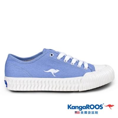 KangaROOS 美國袋鼠鞋 女 CRUST 甜點餅乾鞋(藍-KW01557)