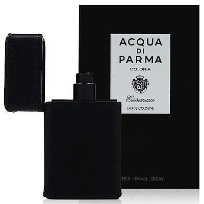Acqua Di Parma 克羅尼亞黑調古龍水 30ml 皮革隨身噴霧瓶