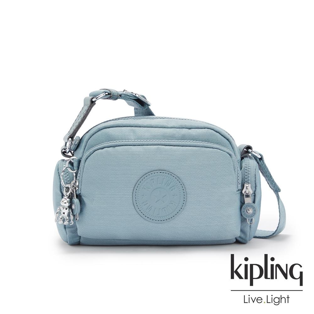 Kipling 寧靜海洋藍好收納隨身斜背包-JENERA MINI