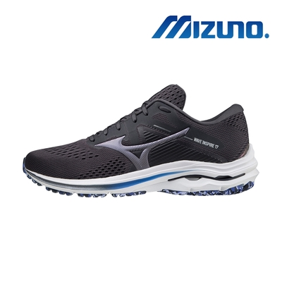 【MIZUNO 美津濃】WAVE INSPIRE 17 超寬楦頭 支撐型 男慢跑鞋(J1GC214593)