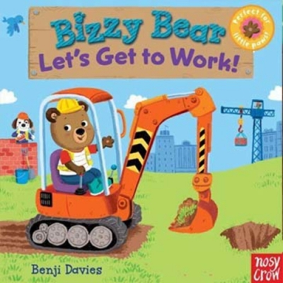 Bizzy Bear:Let s Get to Work! 工程車熊熊新奇操作書(美國版)