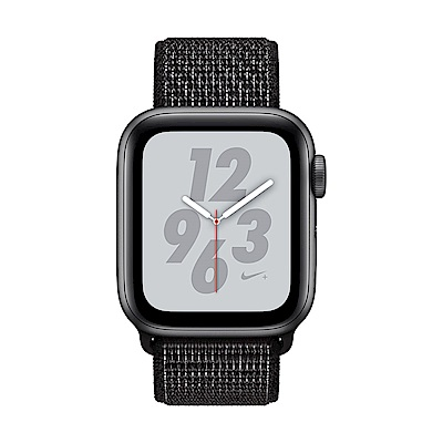 Apple Watch Nike+ S4(GPS+網路)40mm太空灰鋁金屬錶殼+黑色錶環