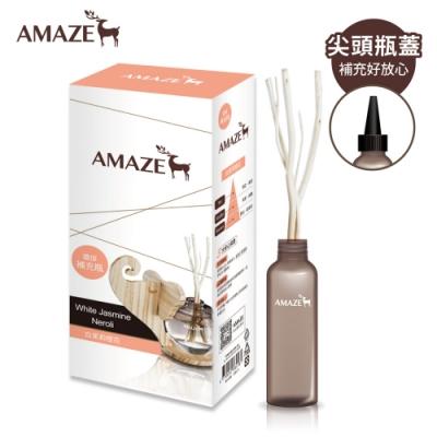 Amaze森林擴香 環保補充瓶-白茉莉橙花(90ml/入)