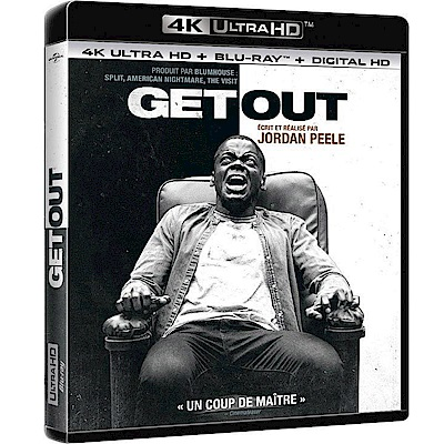 逃出絕命鎮  GET OUT 4K UHD + BD