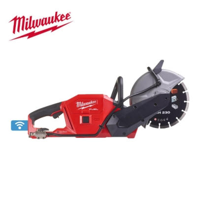 【Milwaukee 美沃奇】18V鋰電無碳刷9吋切割機-M18FCOS230-0 空機 原廠公司貨