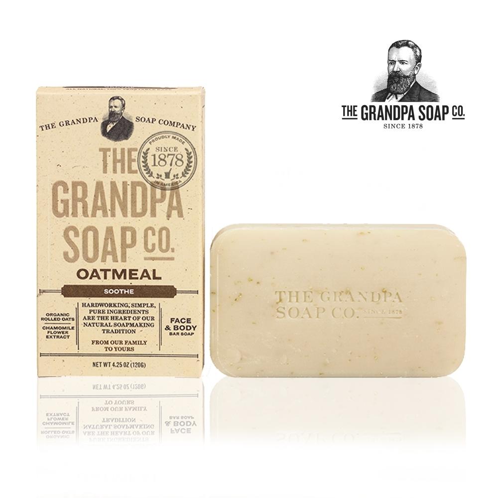 Grandpa 神奇爺爺 燕麥洋甘菊專業舒緩亮膚皂 4.25oz