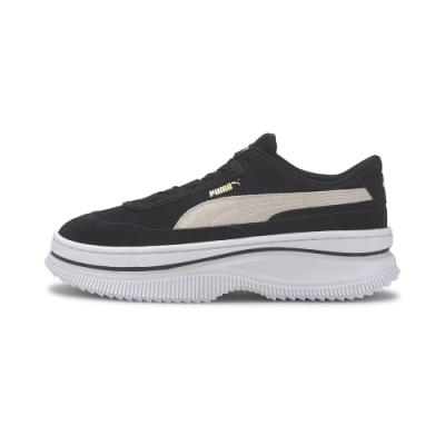 PUMA-Deva Suede Wn s 復古運動鞋-黑色
