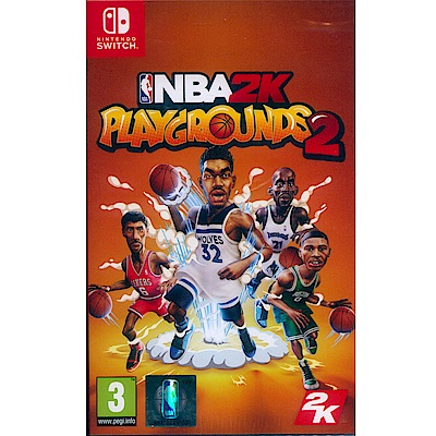 NBA 2K 熱血街球場 2 Playgrounds 2- NS Switch 中英文歐版