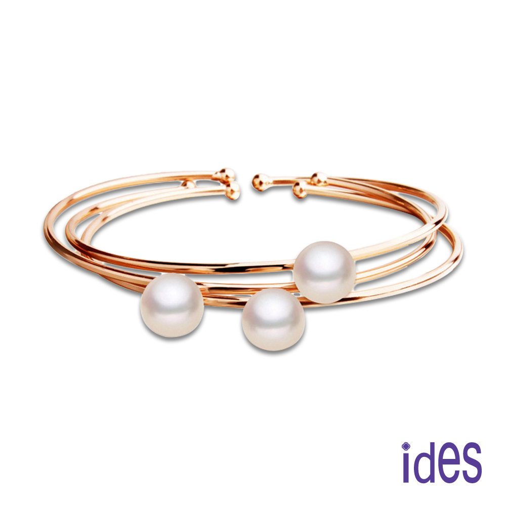 ides愛蒂思 時尚珍珠設計深海貝珠手環10mm/都會女神