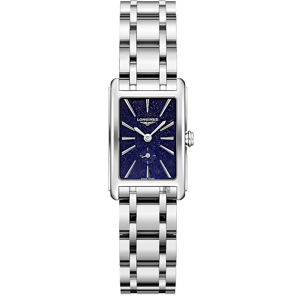 LONGINES 浪琴 DolceVita多情系列星空小秒針女錶-20.8x32mm (L52554936)