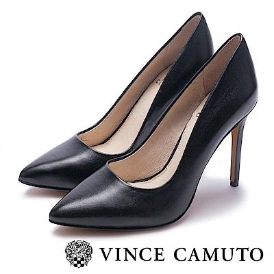 VINCE CAMUTO 熱銷素面絕對美型高跟鞋-黑色
