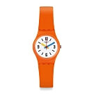 Swatch Bau 包浩斯系列手錶 SORANGE 3D活力橘 -25mm