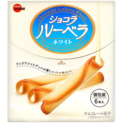 BourBon北日本 白巧克力風味蛋捲(43.2g)
