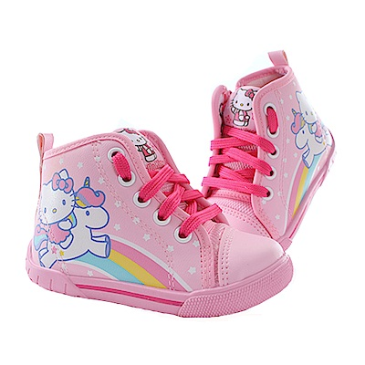 Hello kitty女童高筒鞋 sk0574 魔法Baby