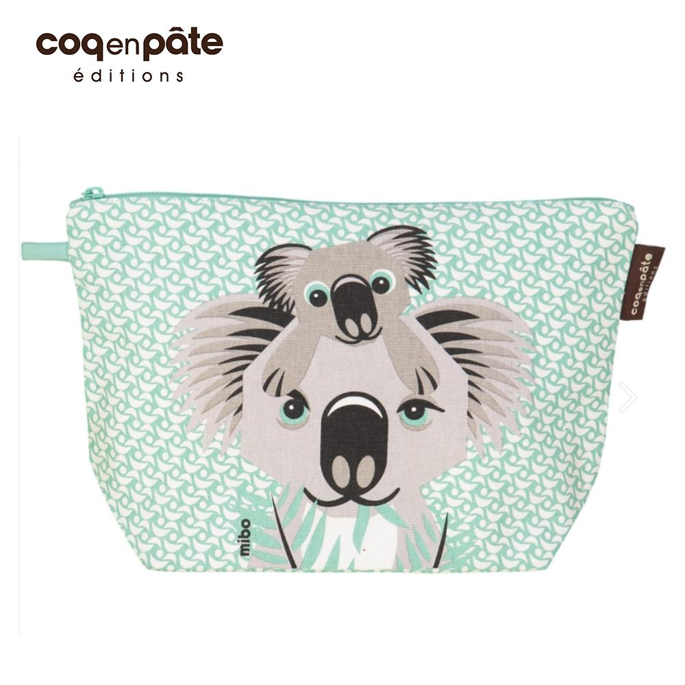 【COQENPATE】法國有機棉無毒環保布包 / 大大水堅包 - 無尾熊 @ Y!購物