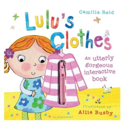Lulu s Clothes 可愛Lulu穿衣服趣味操作書