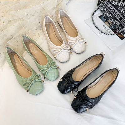 KEITH-WILL時尚鞋館-獨賣甜美樂活女低跟鞋(共3色)