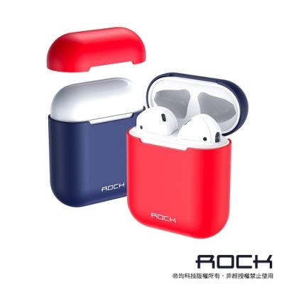 ROCK Apple 一代/二代 AirPods 輕薄矽膠保護套