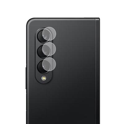 o-one小螢膜 三星SAMSUNG Galaxy Z Fold 3 5G 犀牛皮鏡頭保護貼 (一組兩入)