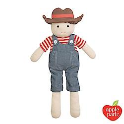 美國 Apple Park 農場好朋友系列- 安撫玩偶 - 農場男孩