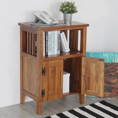 Homelike 米契爾實木置物櫃/玄關櫃- 60x40x86cm