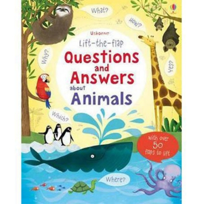 Questions And Answers About Animals 翻翻學習書:動物問與答
