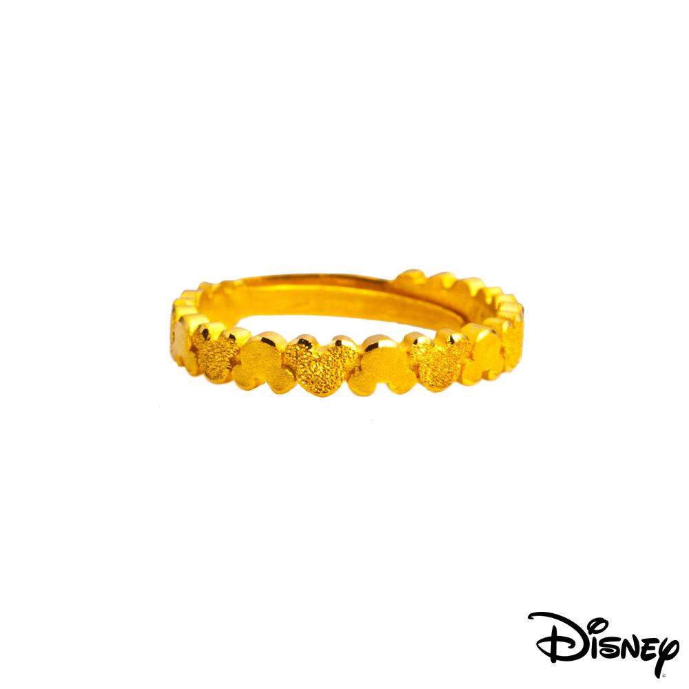Disney迪士尼系列金飾 黃金戒指-浪漫米奇款 @ Y!購物