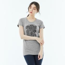 101原創 長版短袖T恤-Focus-女