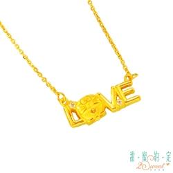 甜蜜約定 Doraemon LOVE‧愛哆啦A夢黃金項鍊