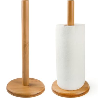 《EXCELSA》竹製廚房衛生紙架