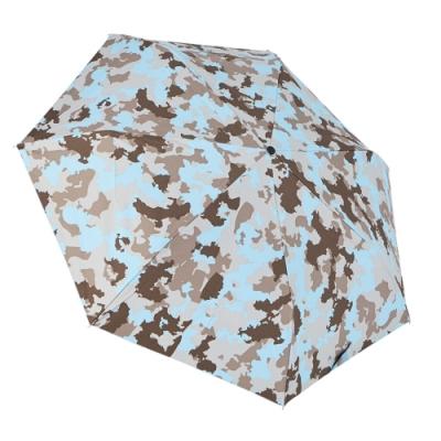 RAINSTORY 8°降溫凍齡個人自動傘(藍調迷彩)