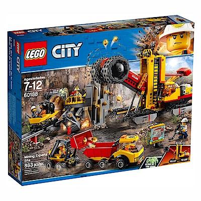 樂高LEGO城市系列 - LT60188 採礦專家現場