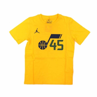 NIKE NBA Statement Edition 青少年 短袖上衣 爵士隊 Donovan Mitchell