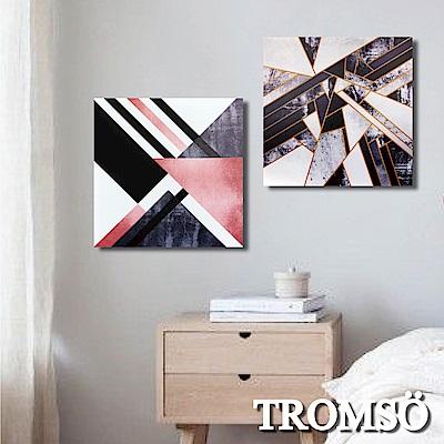 TROMSO 時尚無框畫-靈感大理石