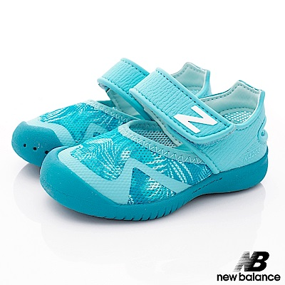 NewBalance 高透氣輕量款 IO208TRP水藍(小童段)