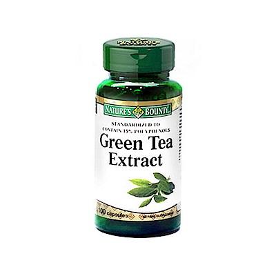 【自然之寶】綠茶菁萃膠囊食品100顆
